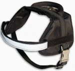 Boston Terrier harness - Nylon dog harness for tracking/pulling