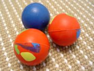 Crazy Color Rubber Ball