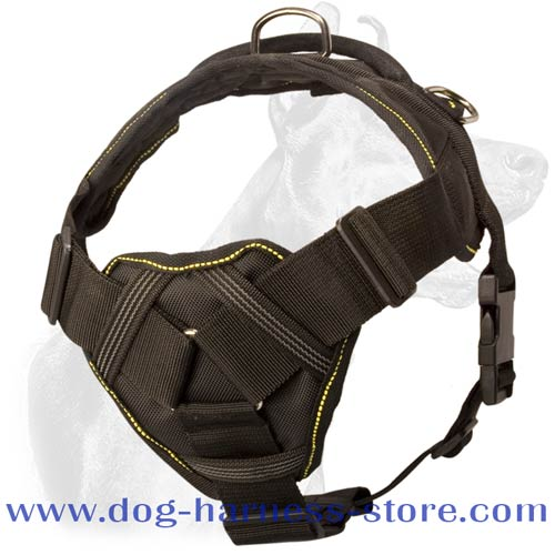Nylon Harness with Chest Plate Extra Strong