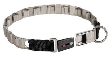 24 inch STAINLESS STEEL Sprenger dog collar NECK TECH COLLAR for dogs