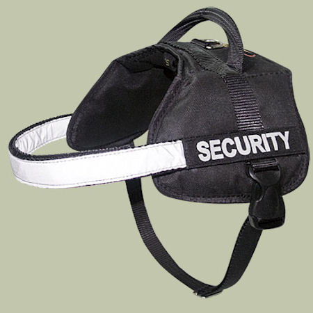 Security Dog Harness for Police and Service Dogs with handle