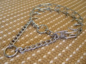 Dog pinch collar made in Germany