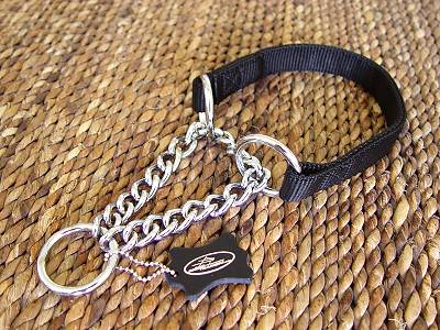 Chain All Weather Choke Nylon Martingale Dog Collar 51614nylon