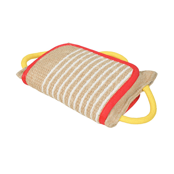 Genuine jute dog training bite pad